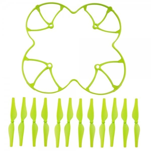 Colorful Props Guard Protection Cover with 12Pcs Propellers Blades for DJI Ryze Tello RC Drone Quadc